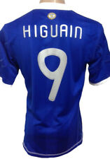 ARGENTINA CLIMACOOL AWAY SOCCER JERSEY 2010 HIGUAIN #9 SIZE LARGE