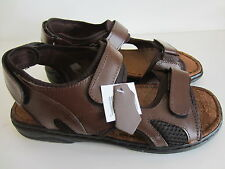 Mens MOZA-X B207794 Brown Leather Sandals UK 6 - UK 9 (R10B)