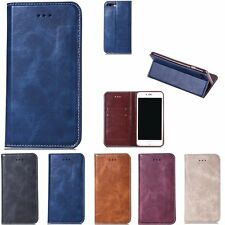 New Luxury Magnetic Flip Leather Wallet Case Card Stand Cover For iPhone 7/7Plus
