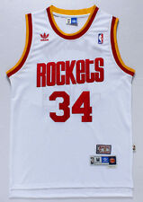 White Hakeem Olajuwon Houston Rockets #34 Jersey