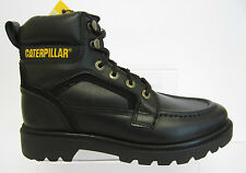 Caterpillar 'Transpose' Mens Black Leather Boots UK Size 6X12 (22E)
