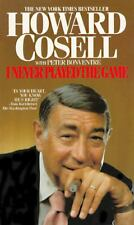 I Never Played the Game by Peter Bonventre and Howard Cosell (1985) 1st EDITION
