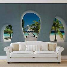 WALL MURAL PHOTO WALLPAPER XXL Tropical Island Beach View Modern (2825WS)