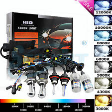 35W 55W HID Xenon Conversion Kit H1 H3 H7 H8 9005/6 D1S H4 9004 Hi/Lo Headlights