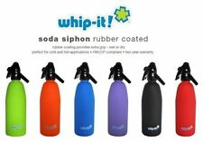 Whip-it! 1L Rubber Coated Soda Syphon