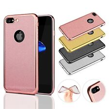Bling Silicone TPU Rubber Case Cover Gel Jelly Skin For iPhone 7 Plus 6 6S 5S SE