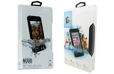 NEW!! Authentic Lifeproof NUDD WaterProof Case For iPhone 6 Plus 6S Plus - Black