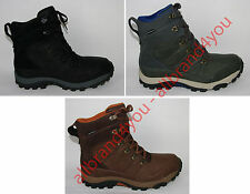 The North Face Men's Chilkat Leather Insulated Waterproof Boot Us Size 9 UE 42