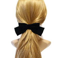 Silk Velvet Hair Bow  Collection  Fall Winter Claw Clip French Barrette Series
