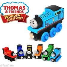 Wooden Train Tank Engine Thomas and Friends Magnetic Kids Toy Christmas Gift