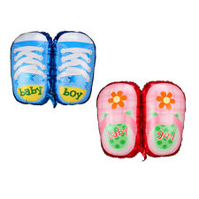 Baby shoes Shape Foil Balloon Birthday Wedding Party Baby Decoration Blue/Pink