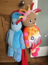 In The Night Garden - Upsy Daisy And Iggle Piggle Pyjama Holders / Cuddly Toys