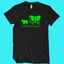 You Have Died Of Dysentery T-Shirt Funny Oregon Trail TEE Retro Game Gaming 8bit
