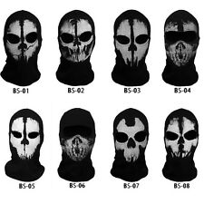 Skeleton Ghost Skull Full Face Mask Biker Ski Balaclava Call of Duty COD Cosplay