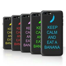 STUFF4 Back Case/Cover/Skin for Apple iPhone 7 Plus/Keep Calm