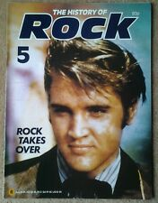 The History Of Rock magazine - Issue 5.   Elvis Presley.