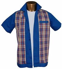 1950s/1960s Rockabilly ,Bowling, Retro, Vintage Men's shirt, 'New' Fast delivery