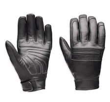 Genuine Harley-Davidson Mens Tailgater Leather Touch Screen Motorcycle Gloves 98