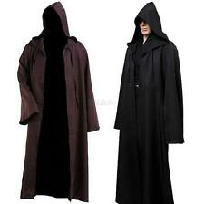 Halloween Cosplay Costume Star Wars Women Men Jedi Warrior Hooded Cloak Robe