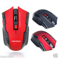 2.4Ghz 6 Keys Wireless Optical Gaming Mouse +USB Receiver For PC Laptop Computer
