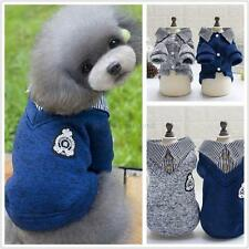 Pet Sweater Dog Hoodie Coat Puppy Cats Warm Clothes Sweater Jacket Shirt Apparel