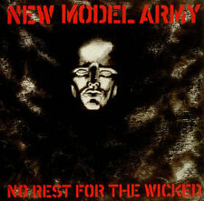 New Model Army No Rest For The Wicked vinyl LP album record UK FA3198 FAME