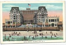 1 postcard United states NJ New Jersey Atlantic City Hotel Dennis Hotel