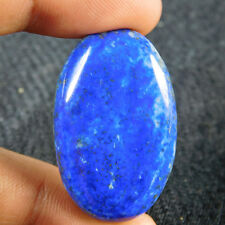 63.15 Ct A+++ 100% Natural Gorgeous Lapis Lazuli Oval 38X24 Cab Loose Gemstone