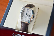 Longines Evidenza Automatic Chronograph Silver Dial L2.643.4 Rare Men's Watch