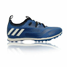 Adidas XCS Mens Blue Running Athletics Track Field Sports Spikes Shoes