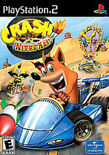 Crash Nitro Kart (Sony PlayStation 2, 2003) PS2 GAME DISC AND CASE