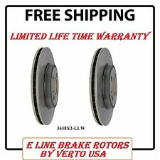 Set Of 2 Disc Brake Rotors- Front Verto USA 34368X2LLW fits 07-15 Mini Cooper