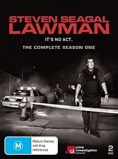 Steven Seagal - Lawman Season 1 DVD, 2010, 2-Disc**R4**Like New**