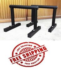 Parallettes Push up Cross fit DIP BARS STATION DIP (PAIR) pushup
