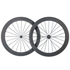 Promotional Ultra Light 50mm Clincher Carbon Wheels Road Bike Bicycle Wheelset