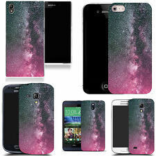 motif case cover for various Popular Mobile phones - pink dust speckle