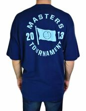 TOURNAMENT 2013 TEE MASTERS AUGUSTA COLLECTION MEN'S CREWNECK T-SHIRT BLUE NAVY