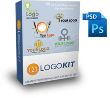 123 Logo Kit 38 Eye-Popping Ready-Made Logos Use For Product or Business Project