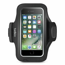 Belkin Slim-Fit Plus Neoprene Fitness Armband Card Slot for iPhone 7 Black