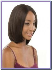 Dark Brown Lace Front Lace Wigs 100% Brazilian Remy human hair Straight Full Wig