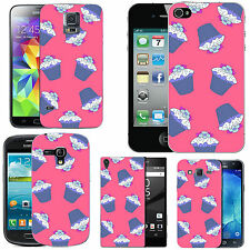 motif case cover for many Mobile phones - blush multi cupcakes