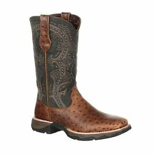 Lady Rebel by Durango Women's Ostrich Embossed Pull-On Western Boot
