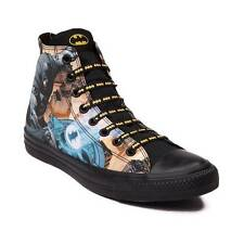 Converse Chuck Taylor Hi All Star DC Comics Batman 150505C Black Unisex Shoes
