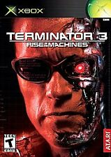 Terminator 3: Rise of the Machines (Microsoft Xbox, 2003) GAME COMPLETE