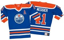 Mark Messier Edmonton Oilers Mitchell & Ness Authentic 1986 Blue NHL Jersey