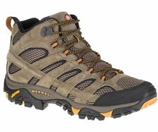 Merrell Mens Moab 2 Ventilator Mid Hiking Boots Walnut-J06045W-NIB