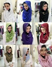 New Muslim Women Headwear Scarf Shayla Islamic Long shawls Hijab Arab Scarf