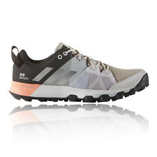 Adidas Kanadia 8 TR Womens Grey Trail Running Sports Shoes Trainers Pumps