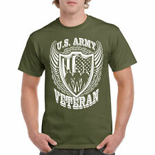 Veteran T Shirt US Army Tee S Navy Military Tee War Hero Iraq Vet Tshirt