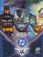 Upper Deck DC VS System Trading Card Game 2Player Starter Deck Batman Vs. Joker